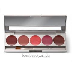 Lipstick in a palette