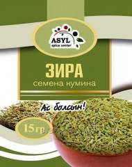 Zira seeds of a kumin of 15 g