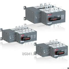 Bypass switches disconnectors with the motor drive