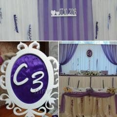 Свадебный декор из пенопласта