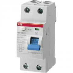 Device of differential current ABB F202 A