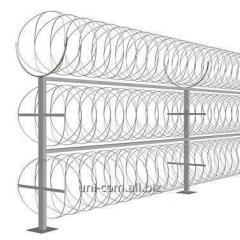 Spiral barrier of safety the Fidget diameter of