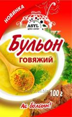 Broth of beef 100 g