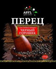 Pepper black peas of 15 g