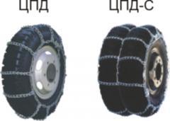 Цепи противоскольжения для грузовой и с/х техники