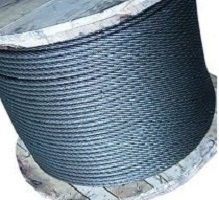 Rope steel GOST 2688 f8.3 with the organic