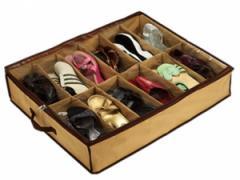Organizer for footwear