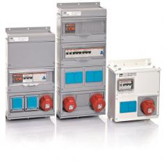 Modular distributive devices of Kombi ABB CUSTOM