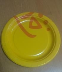 Disposable plate of 18 cm