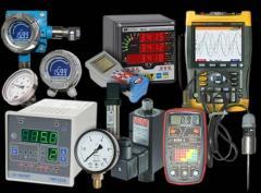 Control and measuring equipmen