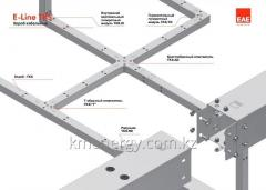 System of galvanized cable boxes E-Line-TKS