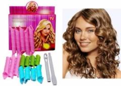 Magic Leverag hair curlers