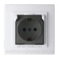 Nilson the Socket 10A with a cover white