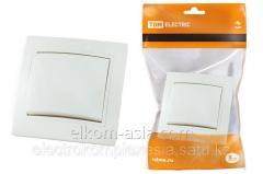 TDM Switch of 1 C. 10A white Taimyr