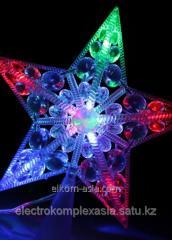 Звезда Космос 10 LED RGB 16, 5см