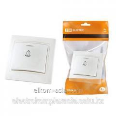 The TDM Button zvonkovy with illumination 6A white