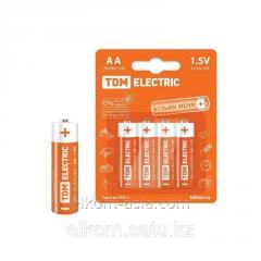 Батарейка LR6 AA Alkaline 1,5V BP-4 TDM