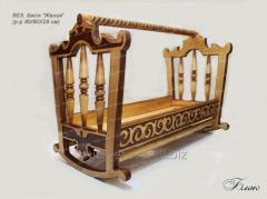 The cradle Bes_k Zhaniya the size is 80/90х29 cm