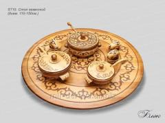 The table the Kazakh diameter is 110-150 cm of