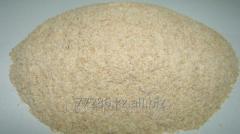 Wheat hulling bran