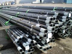Pump-compressor pipes