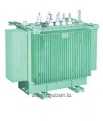 Transformers distributive three-phase oil TM type
