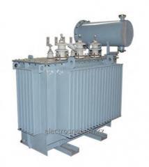 Transformers distributive three-phase oil TMG type