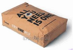 Paper bag for cemen