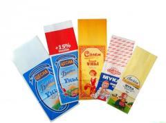 Paper bag for flour