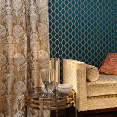 Jacquard for curtains