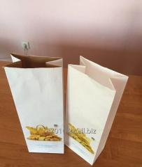 Paper package for bread and bakery products