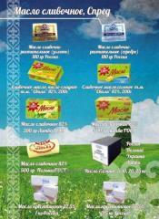 Масло Экстра сладкосливочное 82% ТМ Млековита 25