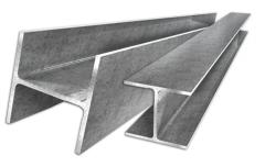 Beam dvutavrovy 12 B1, GOST 8239, steel 09g2s-12,