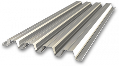 Professional flooring galvanized 0.45 C10,