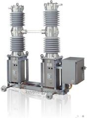 The vacuum switch of alternating current for