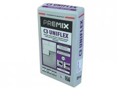 Белый клей для мрамора и мозаики Premix C3 Uniflex