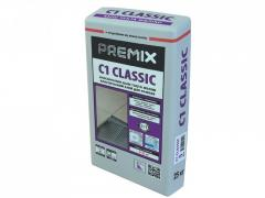 Classical glue for a tile of Premix C1 Classic of