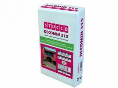 Штукатурная смесь Stucco Decomin 315 1,5 мм 25 кг Камешковая