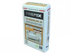 Glue for Premix Techno Block 20 foam concrete