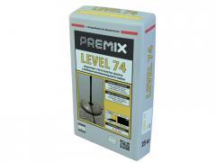 Самовыравнивающаяся смесь на гибридной основе Premix Level 74 25 кг