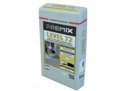 Самовыравнивающаяся стяжка для пола Premix Level 72 25 кг