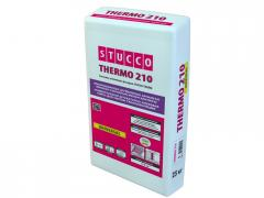 Plaster and glue mix for systems of thermal
