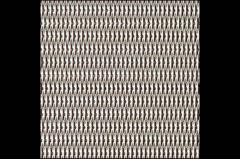 Grid of woven corrosion-proof 0.55 x0.55x0.22