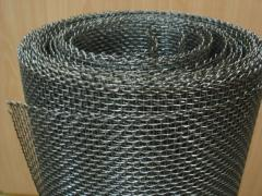 Grid of woven 0.5x0.5x0.3 GOST 3826-82, steel