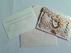 Приглашение на свадьбу, К011