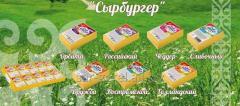 Сыр плавленый 70 гр Чеддер Сырбургер/10/50
