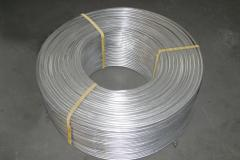 Wire aluminum for overhead power transmission