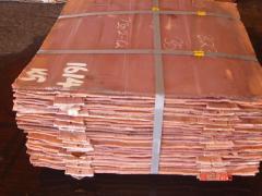 Copper cathodic GOST 546-2001, GOST 859-2001,