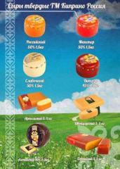 Сыр твердый Киприно Мастер 50% 1,5 кг