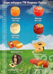 Сыр твердый Киприно Витязьр 50% 1,5 кг